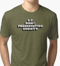 San Francisco Disco Preservation Society Tri-blend T-Shirt
