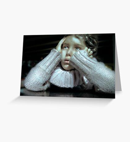 Anguish Greeting Card