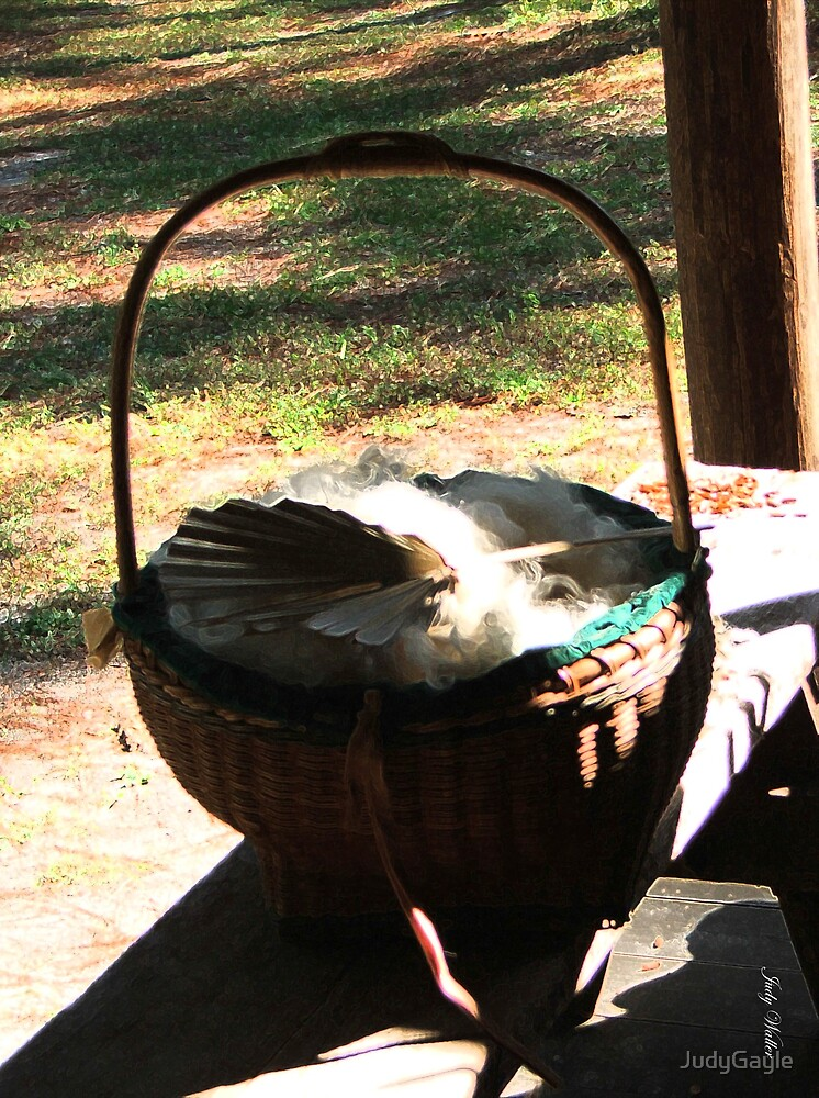 The Basket of Wool by Judy Gayle Waller