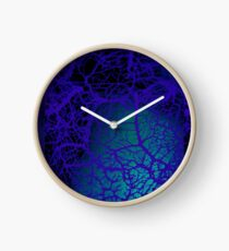 blue nerves Clock