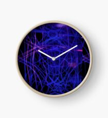 purple nerves Clock