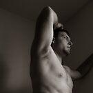 self portrait I by Andrew Hoisington