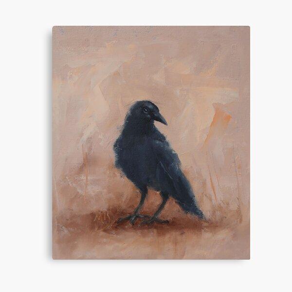 Mountain Crow Canvas Print