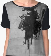 war art Chiffon Top