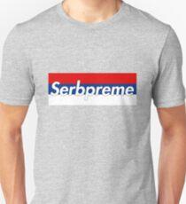 Serbpreme by wapow.  Unisex T-Shirt