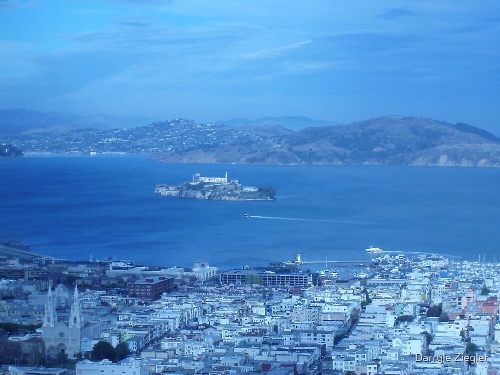 Alcatraz by Darryle Ziegler