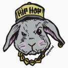 Easter Hip Hop Bunny Rabbit by sketchNkustom