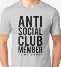 Anti Social Club Member Unisex T-Shirt