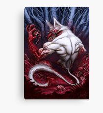 Night of the Jackal Canvas Print