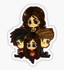 Damon, Stefan, Elena and Katherine Sticker