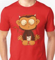 Devil Monkey Wants to be Friends Unisex T-Shirt