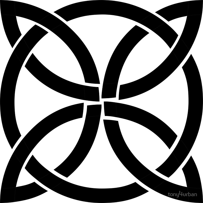 Celtic Knot Symbol Posters By Tony4urban Redbubble
