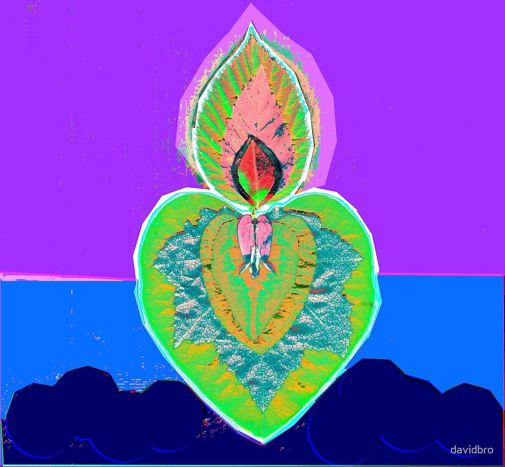 Green Art Heart by davidbro