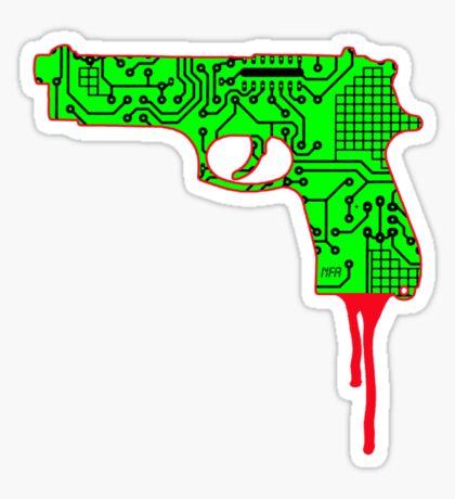 Hardwired for Violence (Generation Death) Sticker