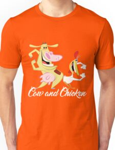 Cow and Chicken Unisex T-Shirt