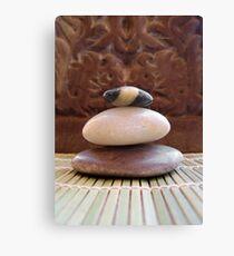Zen Stones Canvas Print