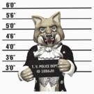 Big Bad Wolf Mugshot by 2HivelysArt