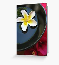 Aromatherapy Bowl Greeting Card