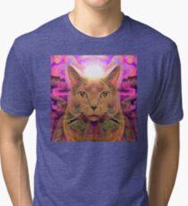 Catnip Rising (Electric Catnip) Tri-blend T-Shirt