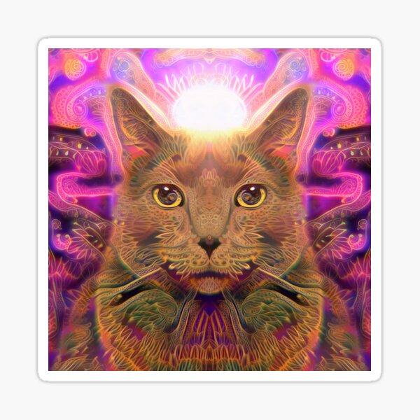 Catnip Rising (Electric Catnip) Sticker