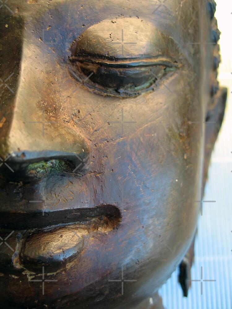 Buddha Face by liewy