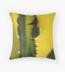 Succulent Thorns Throw Pillow