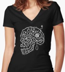 Pirate's Path Women's Fitted V-Neck T-Shirt