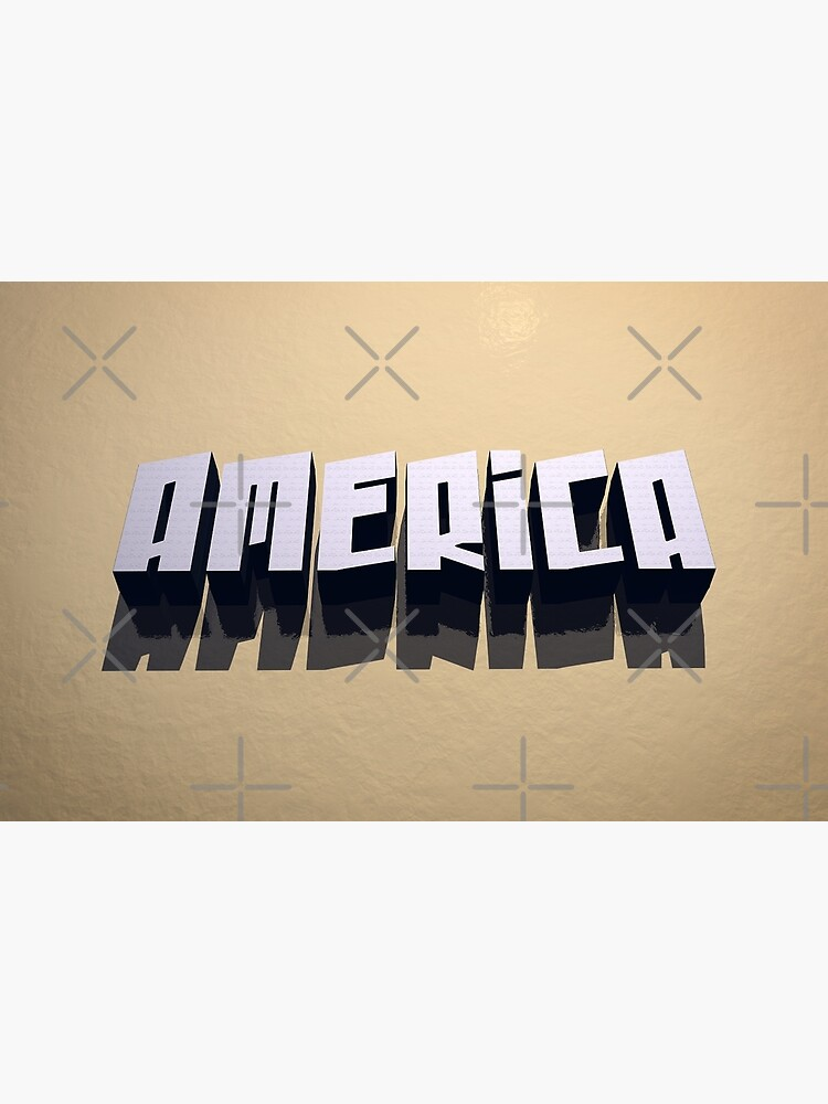 America In 3D by morningdance