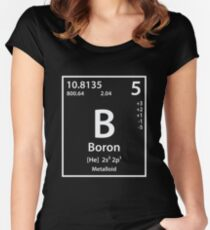 Boron Element Women's Fitted Scoop T-Shirt