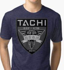MCRN Tachi Patch  Tri-blend T-Shirt