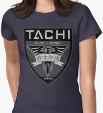 MCRN Tachi Patch  Women's Fitted T-Shirt