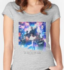 Ghost In The shell movie Women's Fitted Scoop T-Shirt