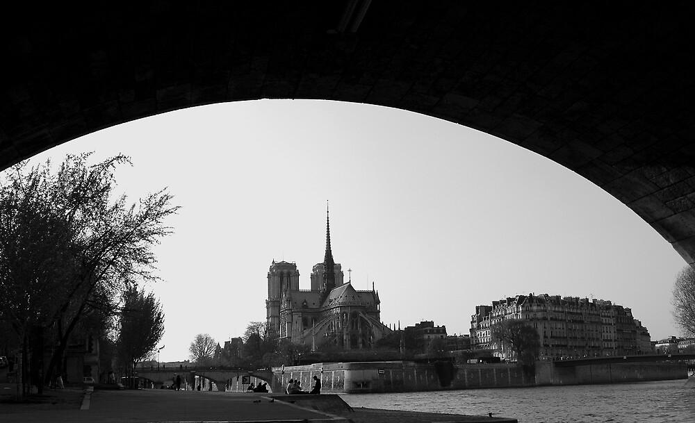 Notre Dame de Paris by cheguillaume