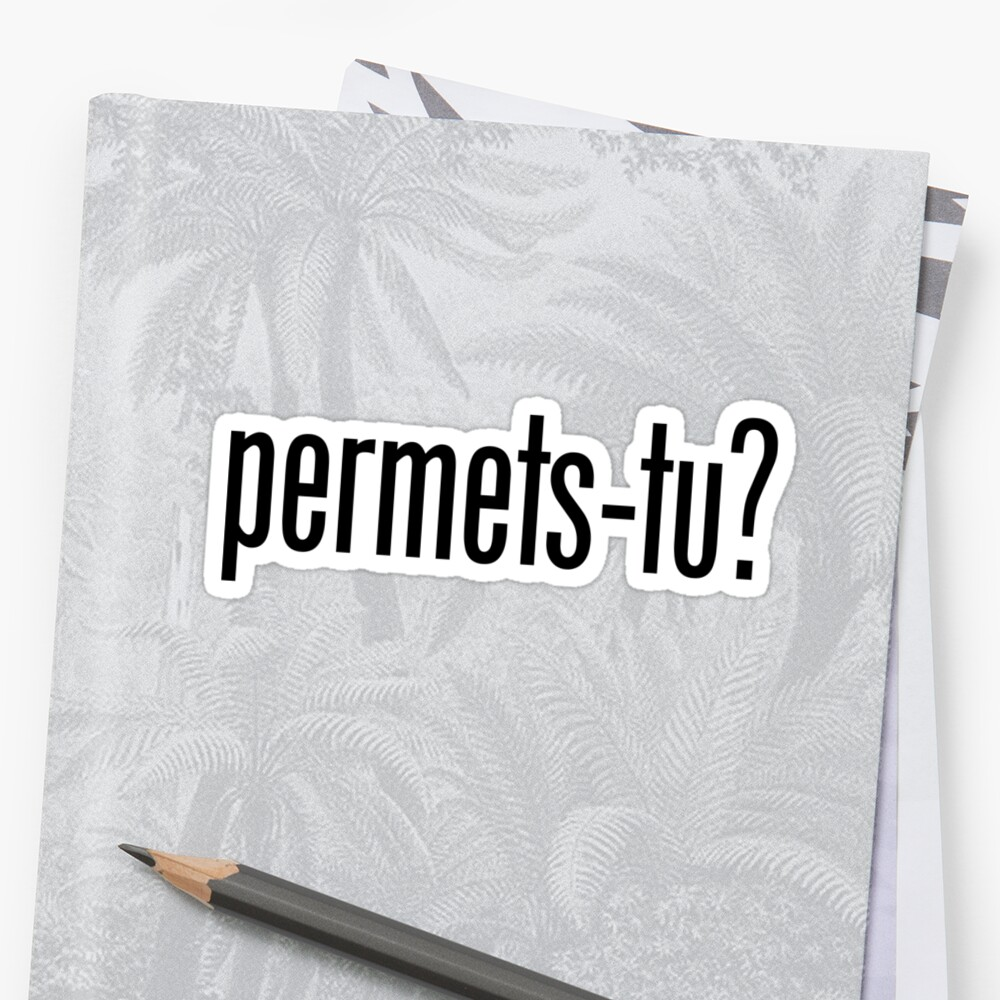 Permets-tu?  by PhantomKat813