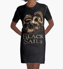 Black Sails II Graphic T-Shirt Dress