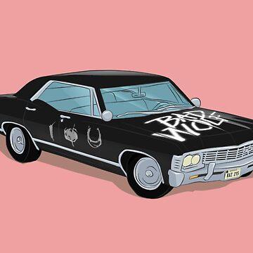 SuperWhoLocked in the Impala by PhantomKat813