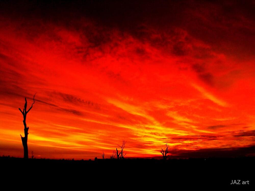 Mystery Sunset...2 by JAZ art