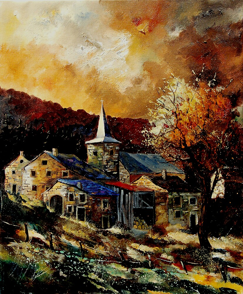 Village Ardennes 56 by calimero