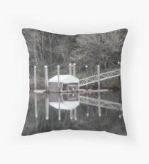 Siuslaw River 1 Throw Pillow
