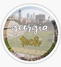 gt football circle Sticker