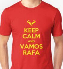 Keep Calm and Vamos Rafa Unisex T-Shirt