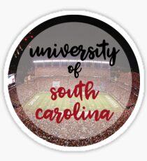 usc football circle Sticker
