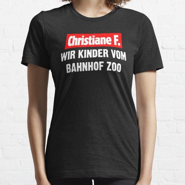 Christiane F. WIR KINDER VOM BAHNHOF ZOO Essential T-Shirt