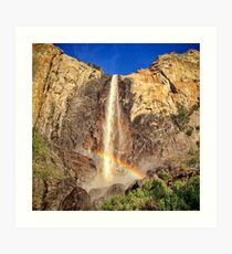 Bridalveil Fall, Yosemite Art Print