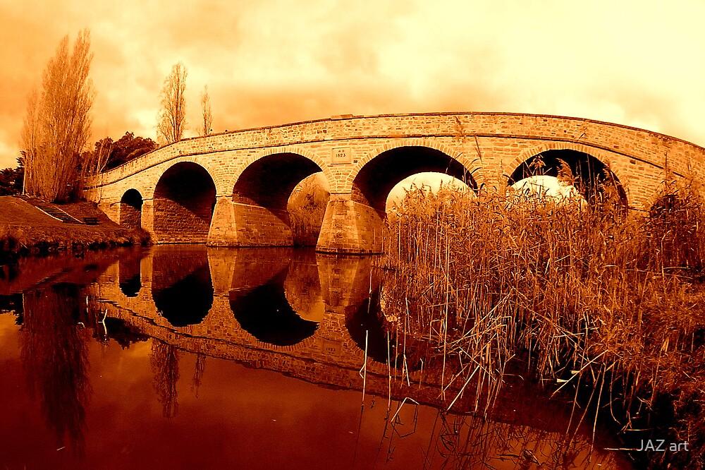 Richmond Bridge, Tasmania 2... by JAZ art