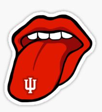 Indiana University Tongue Sticker