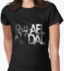 rafael nadal tshirt Women's Fitted T-Shirt