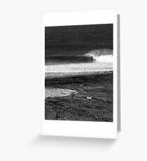 Empty wave... Greeting Card