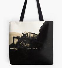 Trail into the light Tote Bag