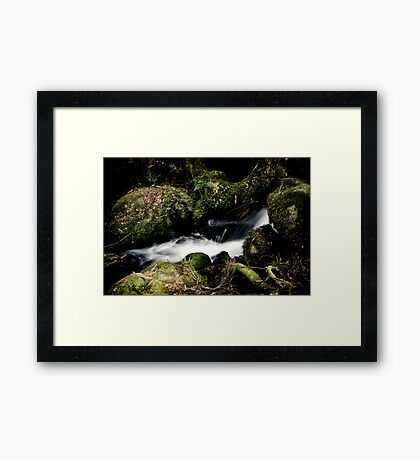 Steady Flow Framed Print